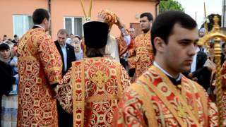 Блаженнейший Митрополит Онуфрий в Св.Александро-Невском монастыре с.Городно на Волыне 11 мая 2016 г.