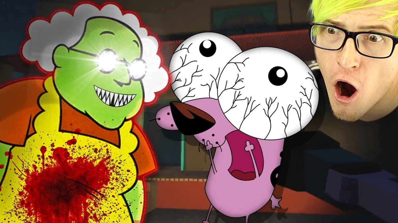 My Childhood In A Horror Game Courage The Cowardly Dog Horror