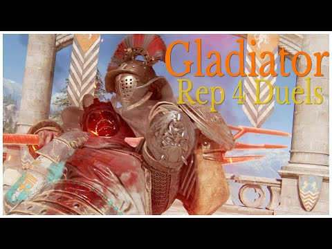 GO TO SLEEP || For Honor || Rep 4 Gladiator Duels |