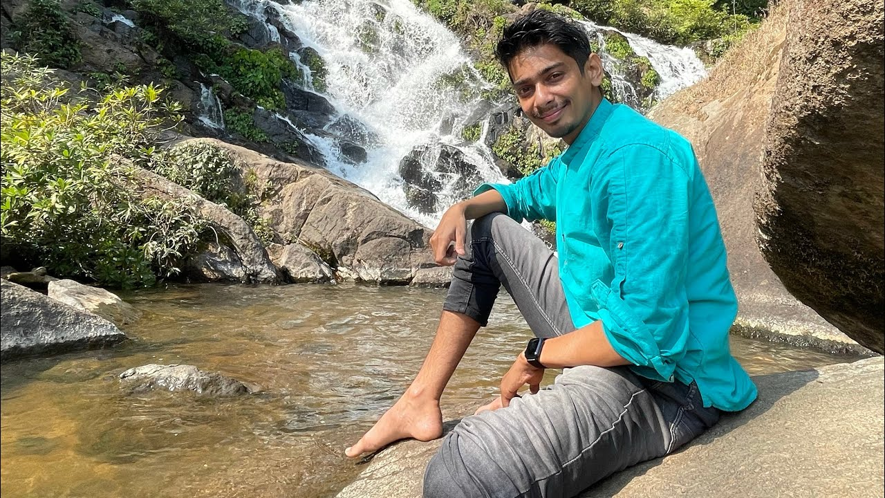 জলপ্ৰপাত - A beautiful waterfall in Karbi Anglong