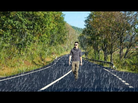 Photo rain effect in Photoshop || how to create rain effect photo