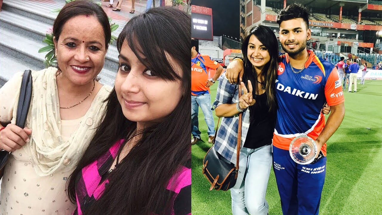 Rishabh Pant Unseen Photos With His Family And Girlfriends Youtube