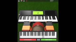 House of Gold - Vessel by: Twenty One Pilots on a ROBLOX piano.