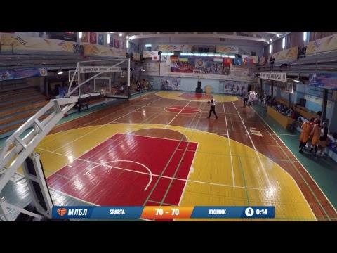 09.02.2019. НБА Sparta - Атомик