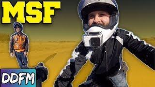 Motorcycle Beginner Class Vlog Part 1 / MSF BRC02