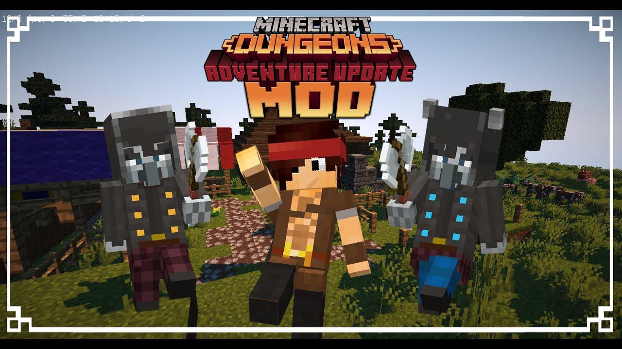 Minecraft Dungeons Mod Adventure Update 1 4 Download now YouTube