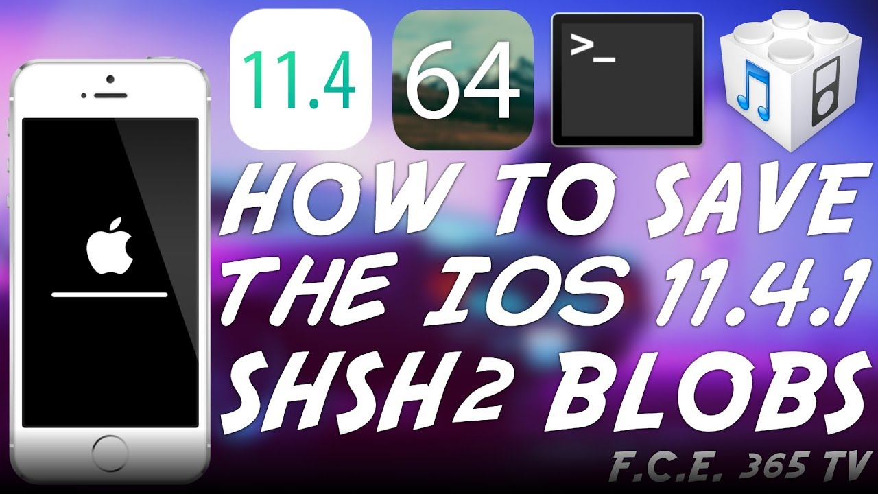 How to Save iOS 11.4.1 SHSH2 Blobs For Future DOWNGRADE ...