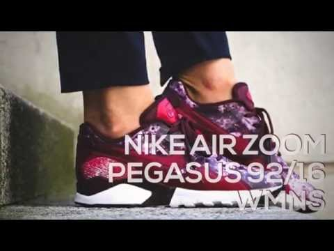 save off fb7cf 988b4 NIKE AIR ZOOM PEGASUS 92 16 WMNS   PEACE X9 - YouTube