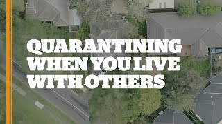 Tips for quarantine when you live with others