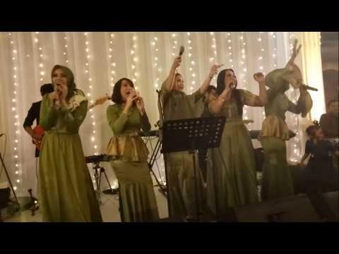 Tia - Nia - Pasha - Rindu - Nana all girls AFI 2 Aku Wanita - Reza Artamevia