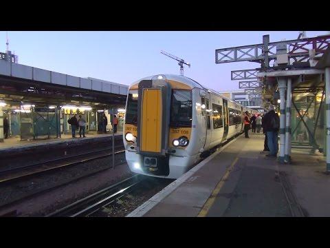 (HD) Brand New Govia Thameslink Railway Class 387108 & 387109 at East Croydon on 1T41 19.12.14