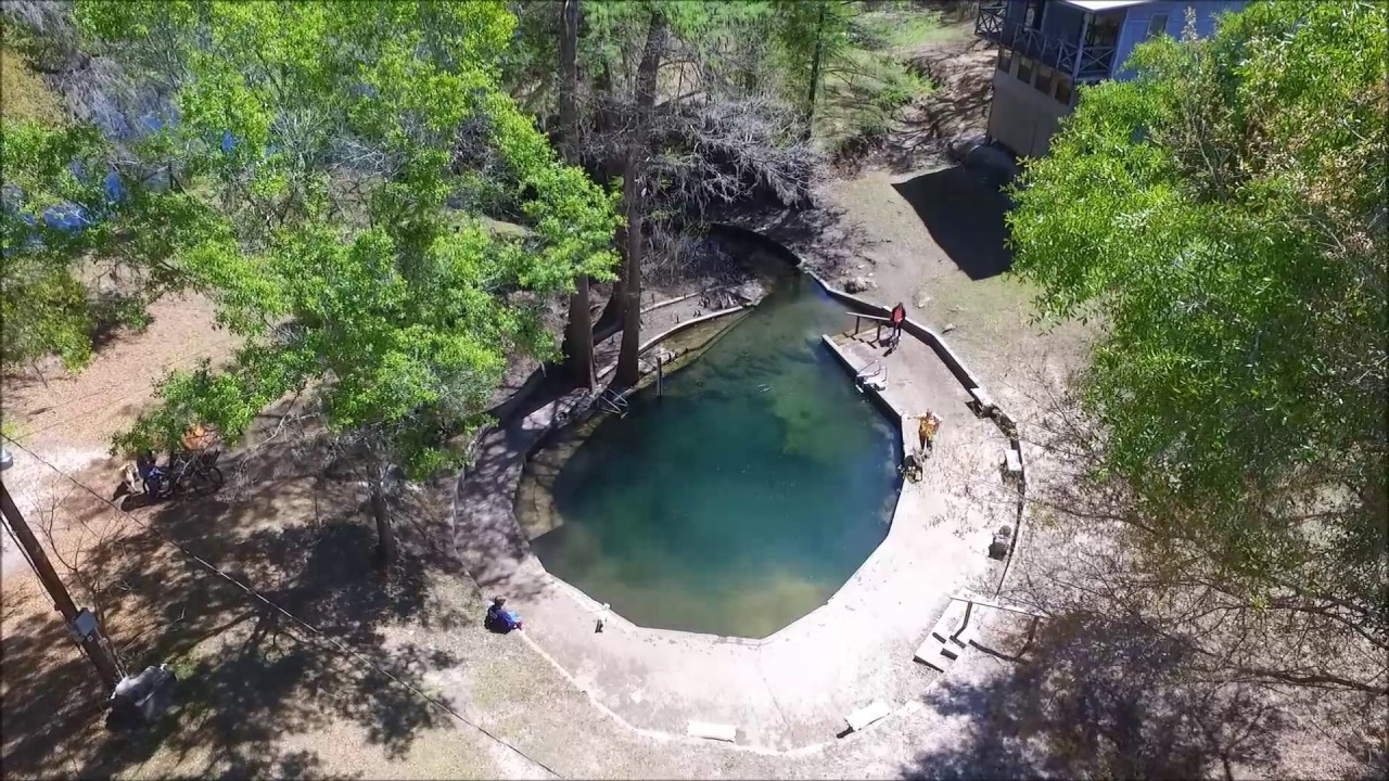 Convict Spring Aerial View From Suwannee River Rendezvous