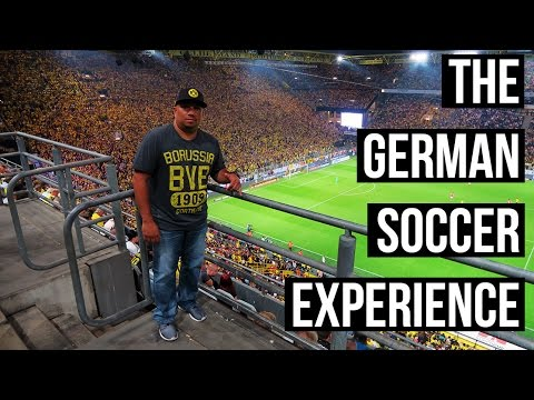 THE GERMAN SOCCER EXPERIENCE 🇩🇪 ⚽    Throwback Vlog
