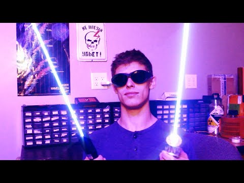 Testing Illegal Blue Lasers From EBay (and Making Them Even Stronger)