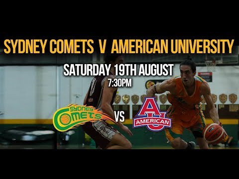 Comets v American University