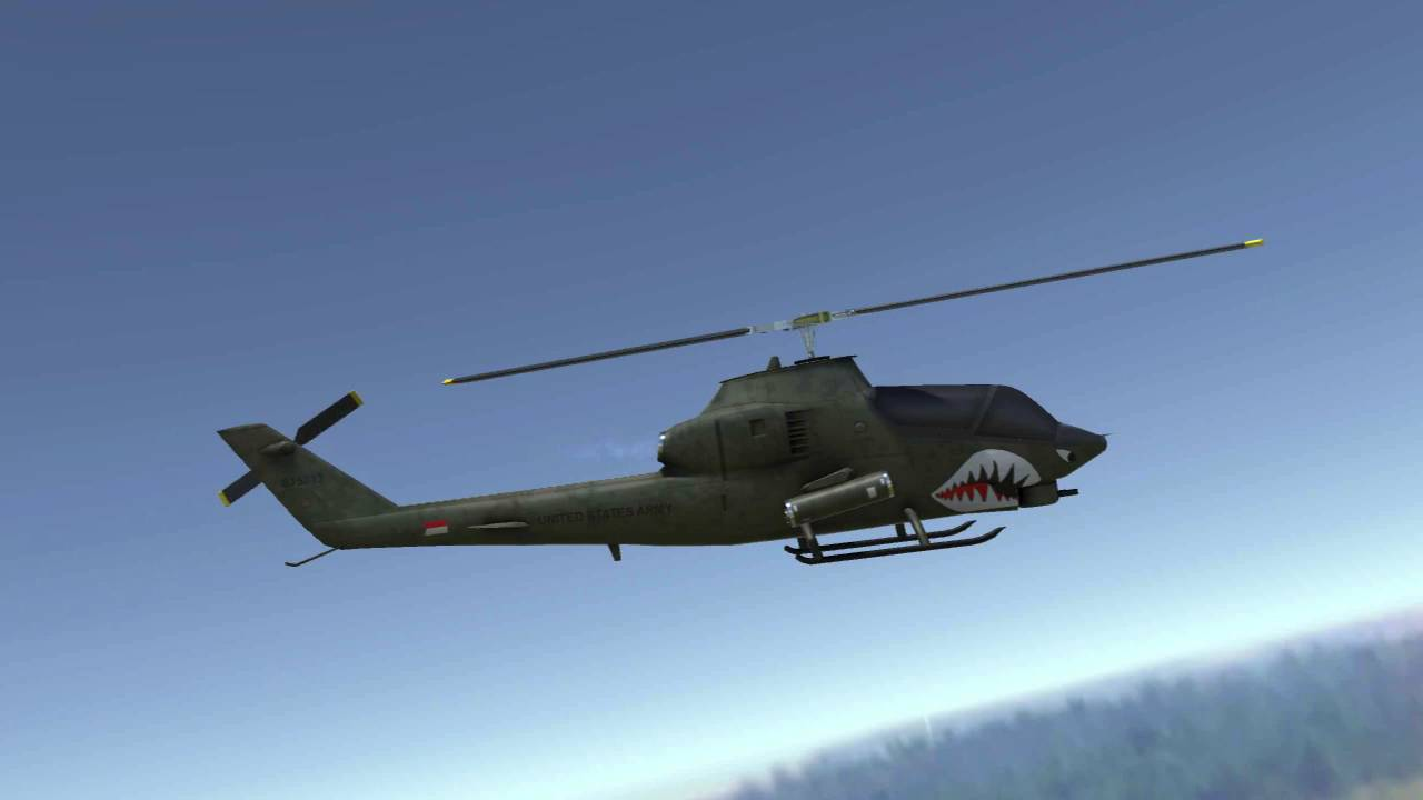 Mobile Attack Helicopter of the Vietnam War Era
