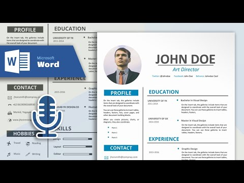 How to Create a Simple and Professional Resume in Microsoft Word