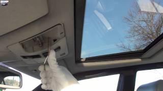 Аварийное закрывание люка Mercedes W210 emergency closing the sunroof