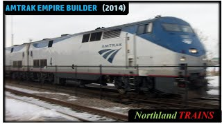 Amtrak in St. Cloud, Minnesota (3-1-14)
