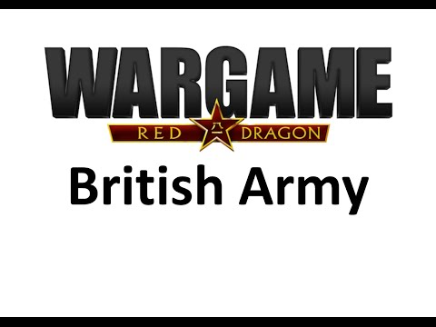 Wargame Red Dragon - British Army