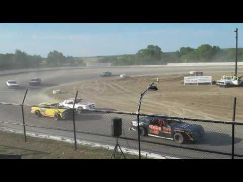 Grayson county speedway factory stock feature 6-25-17