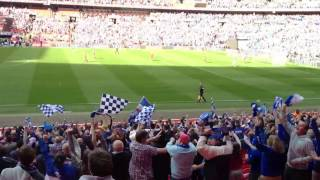 Chesterfield second goal Wembley