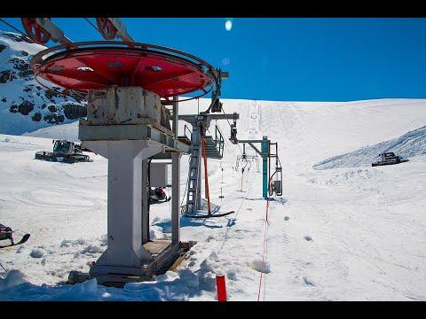 شاهد ما حصل في منتجع التزلج في جورجيا  - نشر قبل 8 ساعة