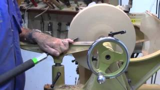 How to Turn a Wood Platter Part 1 of 2