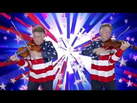 "Bruce Dukov's ""Stars & Stripes"" for 2 Violins in the Style of Wieniawski"