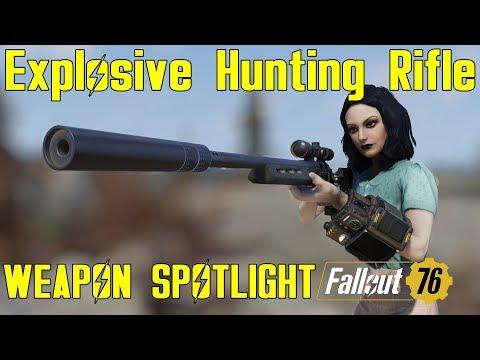 Fallout 76: Weapon Spotlights: Explosive Hunting Rifle thumbnail