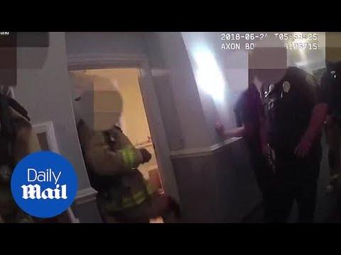 Bodycam Shows Suspect Shoot San Diego Cops In A Condo Complex