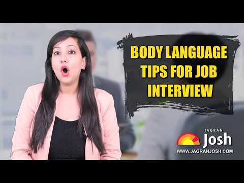 Job interview body language