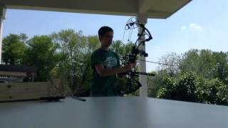 BowTech RPM 360 Shooting 70 Yards