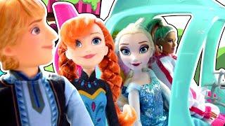 История Куклы Барби! Спасение Королевы Эльзы! От кого ее спасают Барби, Кен и Принцесса Анна?