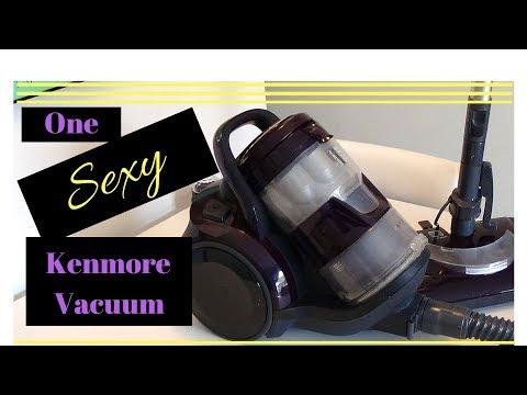 Kenmore Canister Vacuum Orange