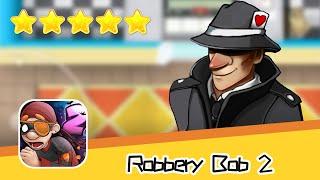 Robbery Bob 2 Secret Agent Suit Day17 Walkthrough Recommend index five stars