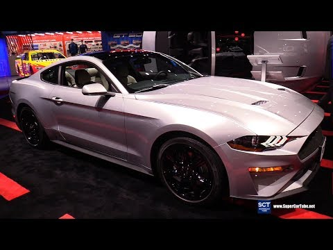Ford Mustang Ecoboost Premium Coupe - Exterior and Interior Walkaround -  LA Auto Show