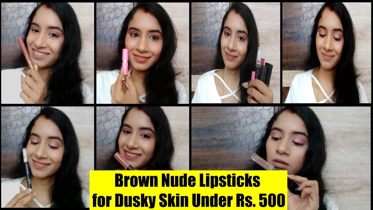 My Top 5 Lipsticks For Summers | Indian/Olive Skin | Under