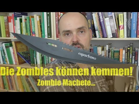 Zombie Machete? Bereit für die Zombie Apokalypse :-)