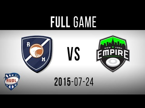 New York Empire VS Royal | GAME | AUDL | TVA SPORTS | Ultimate frisbee | Montreal Royal