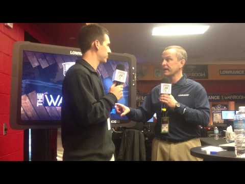 Lowrance's Gordon Sprouse Discussing The Latest Technology From Lowrance, Insight Genesis