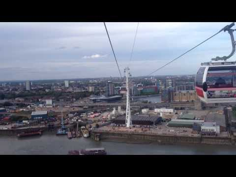 Emirates Air Line - North Greenwich to Royal Victoria
