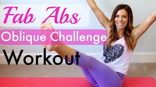 Fab Abs Oblique Challenge Workout!