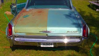 cleaning-off-rust-and-polishing-the-oldsmobile