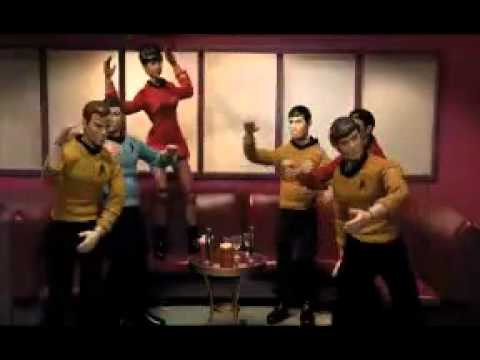 Star Trek Mego Action Figures Karaoke