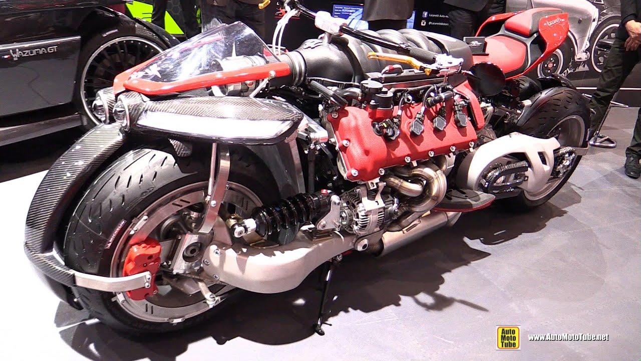 2016 Lazareth Lm847 4 Wheels Bike With Maserati V8 Engine