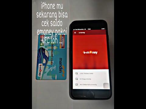 Iphone Punya NFC ? Punya Donk... Bisa Buat Cek Saldo E-money