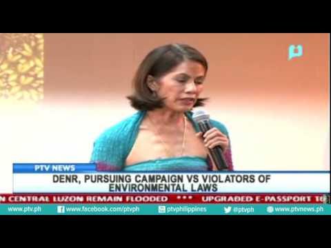 DENR, pursuing campaign vs. violators of environmental laws