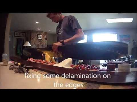Making powder skis! (Cam-rock twin tips) - Time Lapse - WWU Engineering Tech.