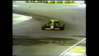 Ayrton Senna Qualifying lap, 1985 Australian Grand Prix in Adelaide